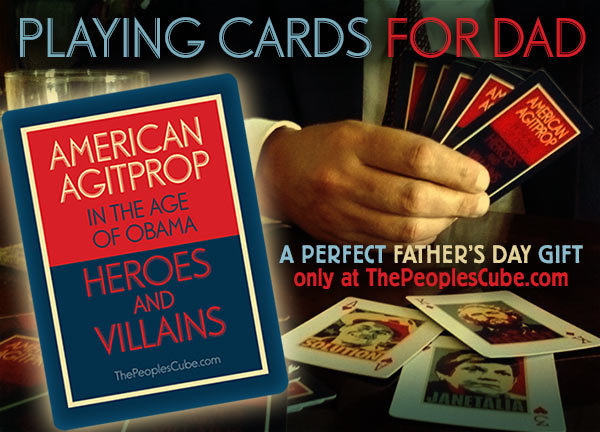 Obama playing cards Father's Day