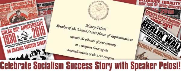 Celebrate Socialism with Nancy Pelosi