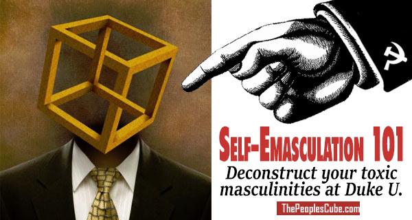 Life imitates Cube: Emasculation 101