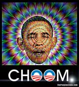Funny Obama picture - Pot smoking Choom Gang