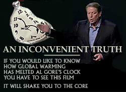 al gore inconvennient truth global warming cartoon
