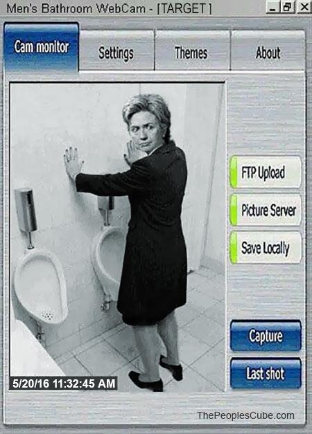 Public restrooms gloryholes s f