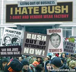 kill bush satire