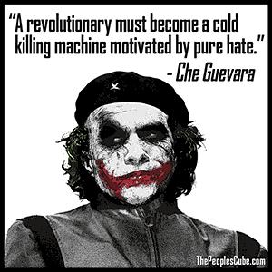 Joker Che Guevara Cartoon