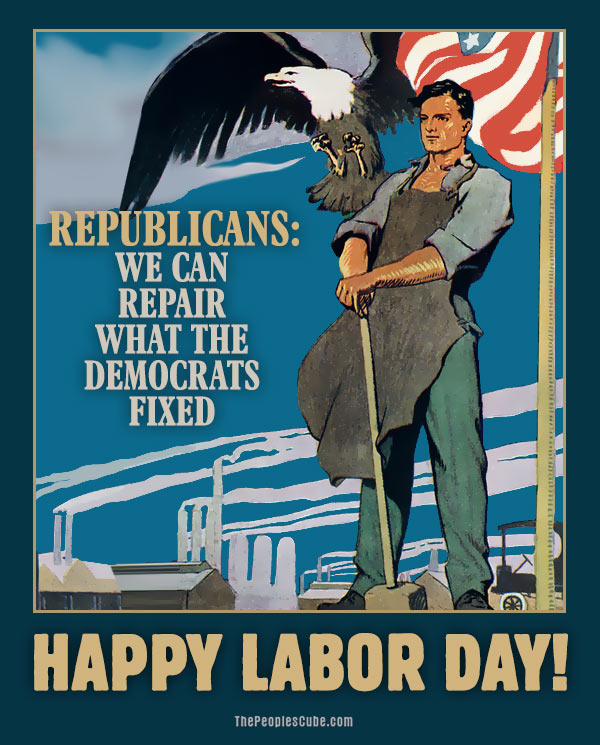 Happy Labor Day Posters
