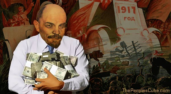Lenin a German agent