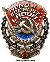 Hero of Socialist Labor medal parody