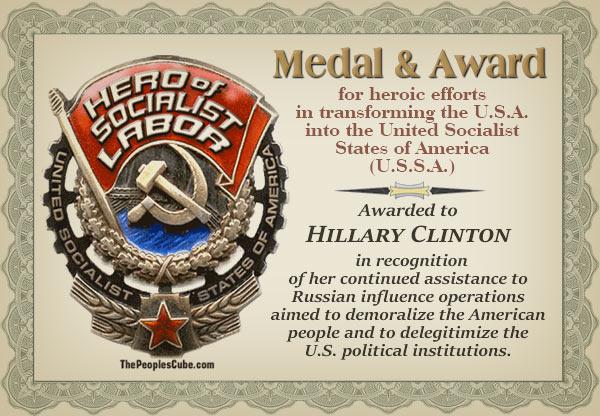 MEDAL_Hillary_Socialist_Labor_Certificat