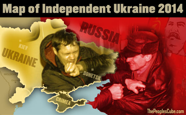 Independent Ukraine beaten up by Russia