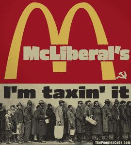 McLiberals progressive fast food
