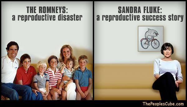 Mitt Romney Family - Sandra Fluke