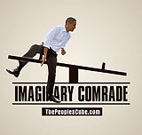 Obama's imaginary friend funny picture