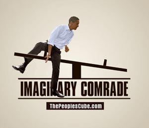 Obama's imaginary friend funny parody
