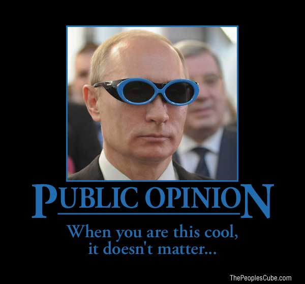 Putin demotivational