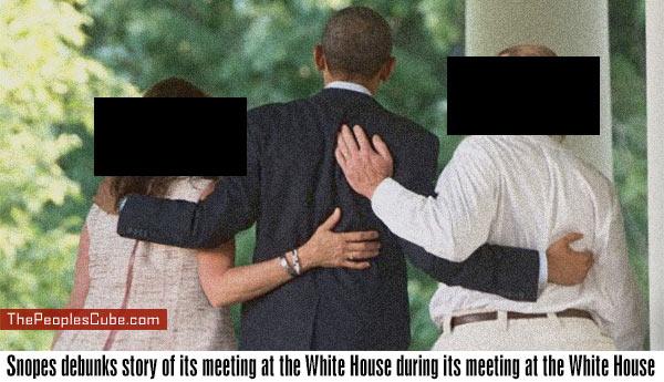 Snopes denies visiting White House during White House visit