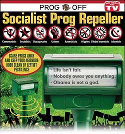 Socialist Repeller Parody of Animal Repeller