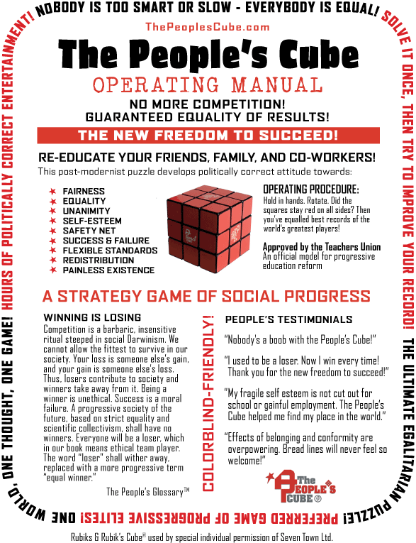 The Peoples Cube Manual
