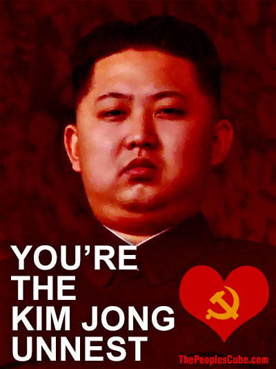Schön In View Of Dictator Succession, We Must Update The North Korean Valentine  Card.