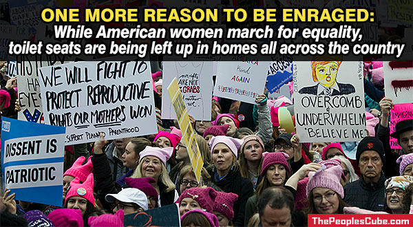 c6161cc296c Women s March in DC leaves millions of cats hungry at home