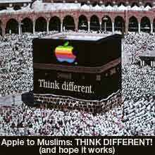 apple mecca communist islam political humor