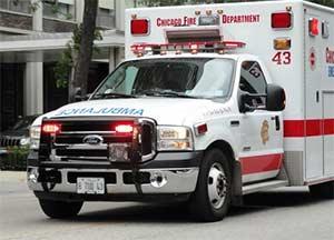 BLM blocks ambulance