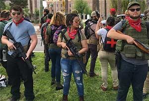 Antifa with guns