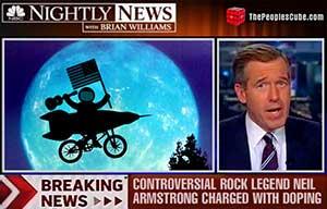 Neil Armstrong NBC correction cartoon