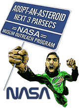 Islamic Rage Boy and NASA Muslim outreach program cartoon