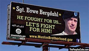 Bowe Bergdahl Billboard