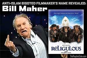Anti-Islam Hate Video Filmmaker Exposed - Bill Mahr