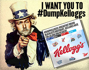 Breitbart: I want you to #DumpKelloggs