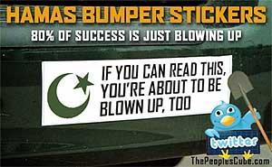 Funny Hamas Bumper Stickers