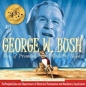 George Bush Child of Hope Obama cartoon