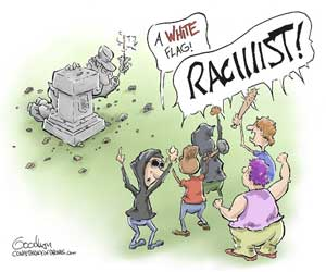 Racist statue