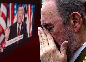 Trump kills Castro