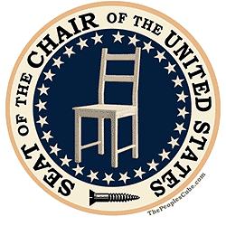 Obama Empty Chair President Seal Parody