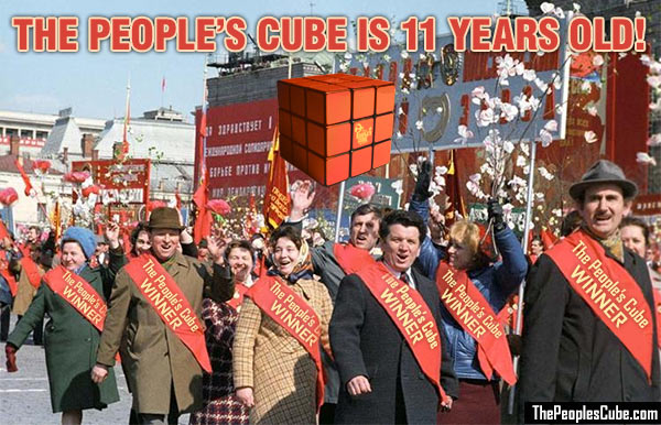The People's Cube anniversary
