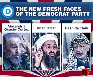 fresh faces of the Democrat Party