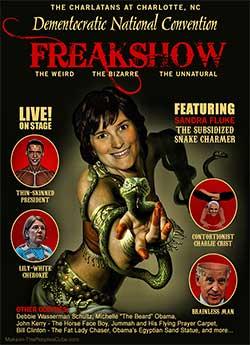 The DNC Freakshow: The Weird, The Bizarre, The Unnatural