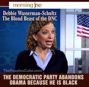 Debbie Wasserman Schultz - DNC Blond Beast