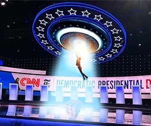 Dem debate UFO