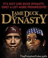 Cartoon: Duck Dynasty with Obama