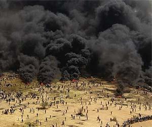 Gaza smoke