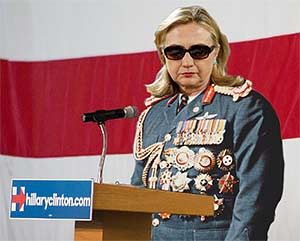 Hillary's medals