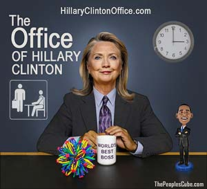 Hillary Clinton Plays Boss in New Season of 'The Office' funny picture