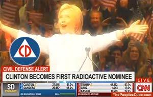 Hillary radioactive