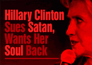 Hillary Clinton Sues Satan