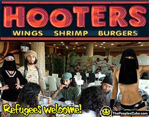 Hooters to hire refugee