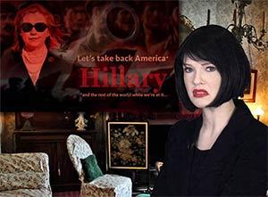 Irina endorses Hillary