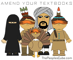 Islam Built Fabric of America cartoom